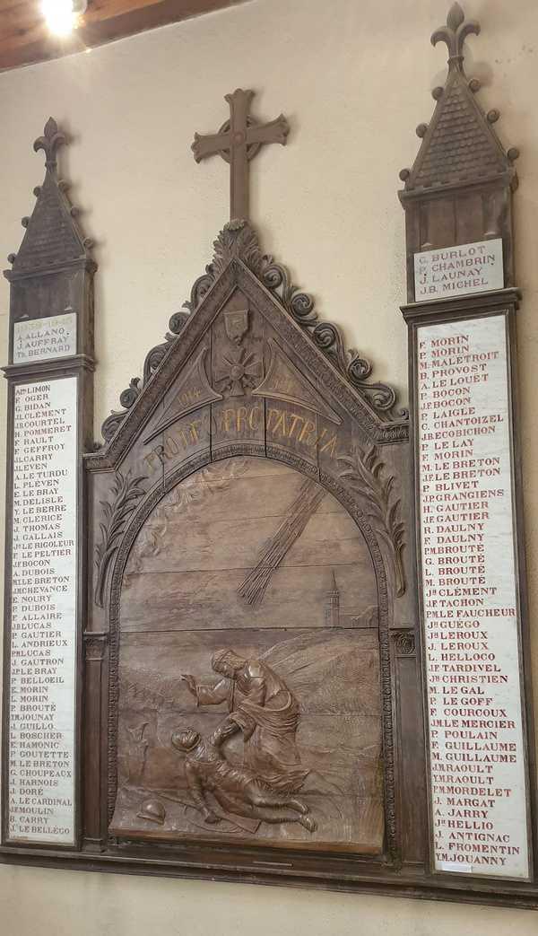 Les monuments au morts<br>