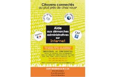 Citoyens connectés: aide gratuite aux démarches administratives